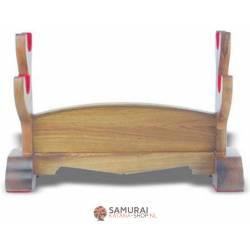 Natural Wood 2 katana's Stand