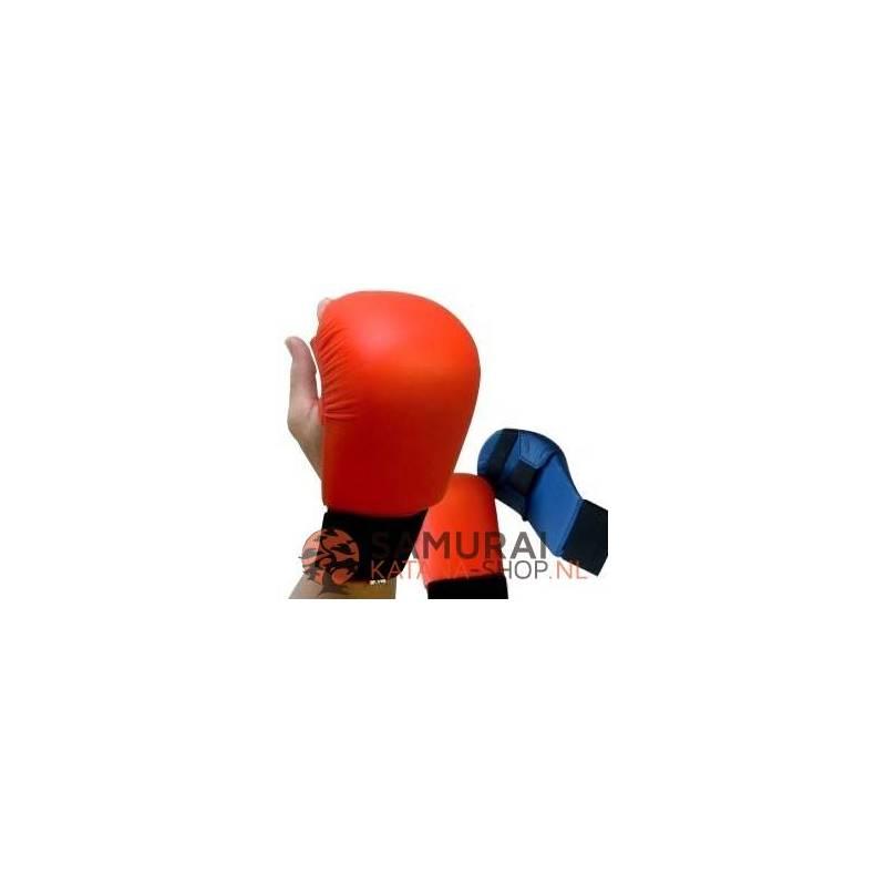 Blauw Karate handschoen Nihon