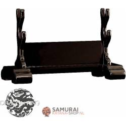 Double Japanese Sword Stand