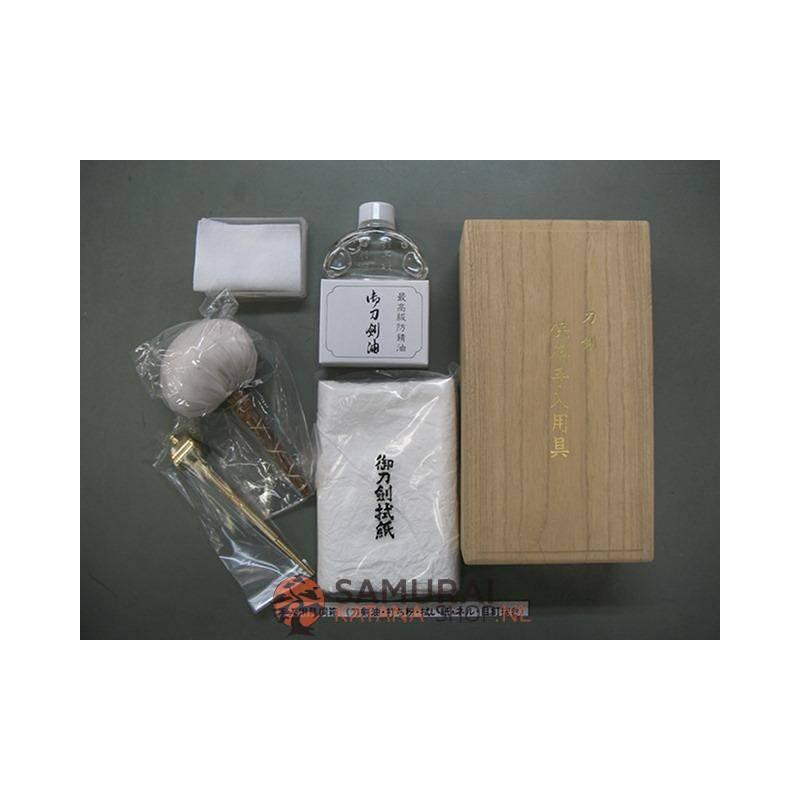 Japanese katana cleaning kit de Luxe