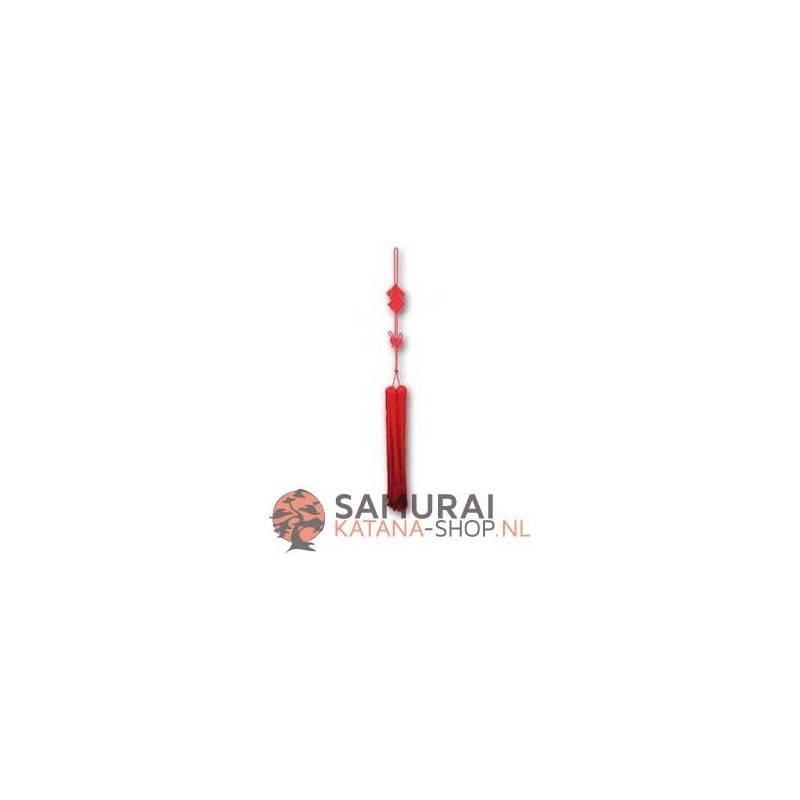 Red Taiji & Gongfu Sword Tassel