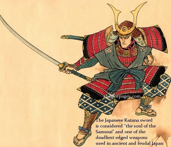 japanse samurai katana zwaarden